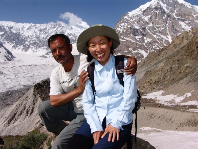 Click to view full size image  ==============  Nanga Parbat Trek 2009  Hassan and Hyuk-Rae