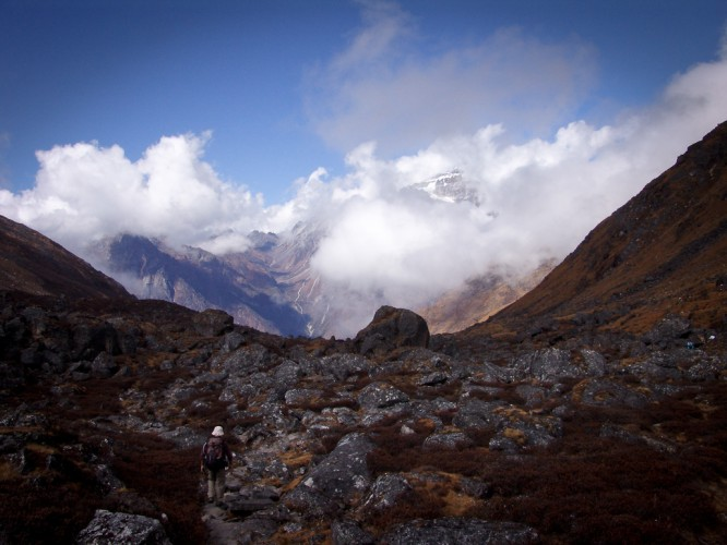 Click to view full size image  ==============  Kangchenjunga Trek